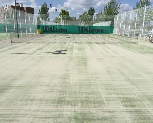 pistas, tenis, polan, toledo, instalación pistas